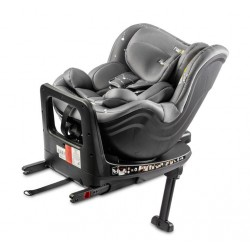 FOTELIK TWISTY  I-SIZE 0-18 KG ISOFIX GREY
