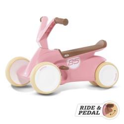 BERG GO2 Gokart Jeździk Rowerek 2w1 Retro Pink
