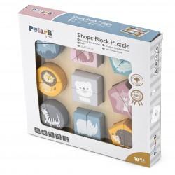 SMOBY Cotoons Puzzle interaktywne -klocki